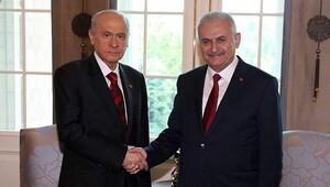 Başbakan Yıldırım ile Bahçeli telefonda görüştü