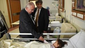 Şanlıurfa Valisi, boşalan hastaneleri inceledi