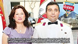 Berlin'deki Türk ataşe ve eşi kayıp