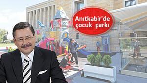 Anıtkabir'de çocuk parkına Gökçek sahip çıktı
