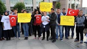 Tutuklanan askeri okul öğrencilerinin yakınları açıklama yaptı