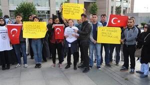 Tutuklu askeri okul öğrencilerinin ailelerinden eylem: Haketmedik