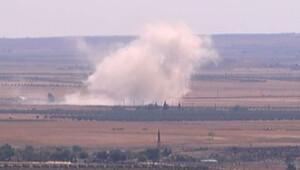 Sınırda şiddetli patlamalar
