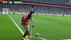 Beşiktaşlılar bu pozisyonu tartışıyor
