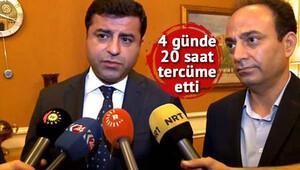 Baydemir 20 saat tercümanlık yaptı, Demirtaş'tan 'Kürtçe' açıklaması...