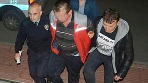Adliyeden firar eden tacizci polisten kaçamadı