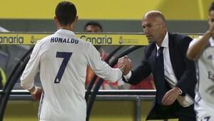 Ronaldo'dan, Zidane'a şoke eden küfür!