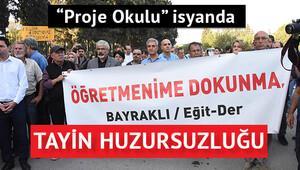 İzmir Fen Lisesi'nde 'Öğretmenime dokunma' eylemi
