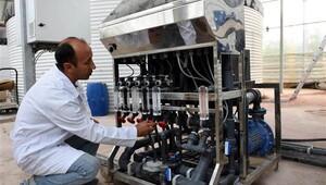 Türkiye'de bir ilk! -46 derecede Van'da üretildi
