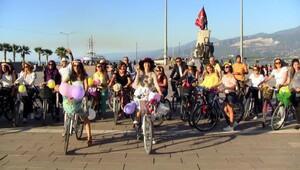 İskenderunlu 'süslü kadınlar' da tura katıldı