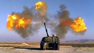 TSK: 18 IŞİD hedefine 27 Fırtına atışı yapıldı