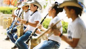 Kolombiya'da beyaz sayfa