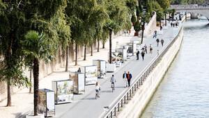 Seine Nehri kıyısı artık yayaların
