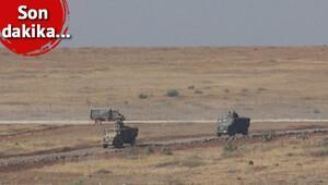 Obüs topları destek verdi, kirpi ve zırhlılar Suriye'ye girdi