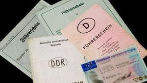 Almanya'da ehliyetler değişiyor