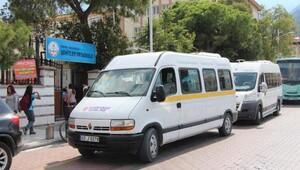 Manisa'daki öğrenci servisleri denetleniyor