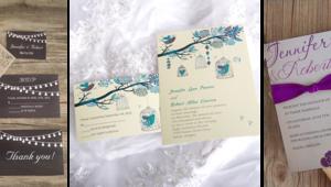 Düğün temasına göre davetiye modelleri