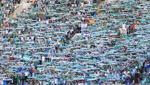 Bursaspor'un kıskandıran seyirci ortalaması