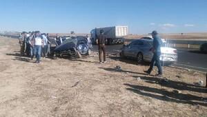 Konya'da kaza: 2 ölü
