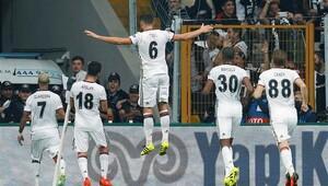 Beşiktaş-Dinamo Kiev maçından kareler