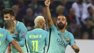 Barcelona'yı Arda kurtardı!