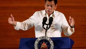 Filipinler başkanı ABD ile ortaklığı sonlandırıyor