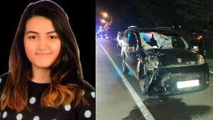 Üniversiteli Ayşe kazada öldü