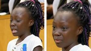 9 yaşındaki küçük kız dünyayı ağlattı