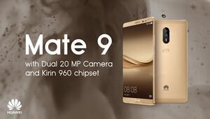 Huawei Mate 9un çıkış tarihi belli oldu