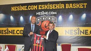 Nesine.com 'Eskişehir Basket'e isim sponsoru oldu