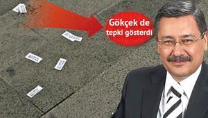 Ankara'da fuhuş kartvizitlerine tepki...