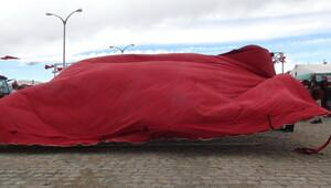 Pancar alım kampanya törenini rüzgar dağıttı