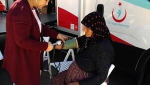 İslahiye'de vatandaşlara kalp hastalıkları anlatıldı