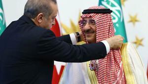 Suudi Arabistan Veliaht Prensine Cumhuriyet nişanı