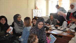 Suriyeli öğretmen adaylarına mülakat sınavı
