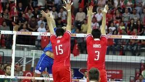 CEV 2017 Avrupa Voleybol Şampiyonası Elemeleri Türkiye-Portekiz: 3-0