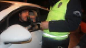 Alkollü sürücüye polisten ders niteliğinde sözler