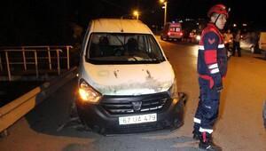 Zonguldakta kaza: 1 yaralı