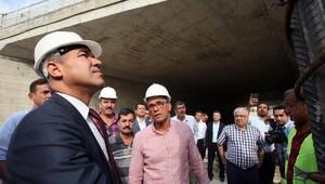 Türkmenbaşı - Havaalanı arasında son aşama