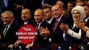 Putinden Türk Akımı ve 15 Temmuz mesajı