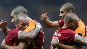 Galatasarayda milli hasar Sneijder, Eren, Hakan Balta...