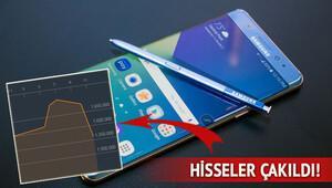 Samsung borsada da patladı