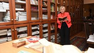 Ayşen Hanımın gastronomi kütüphanesi