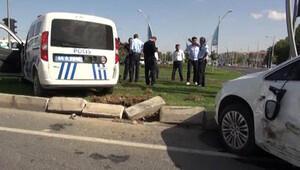 Bakan Tüfenkci'nin konvoyunda kaza