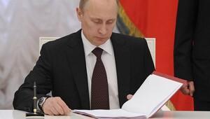 Putinden Suriye kararı İmzaladı