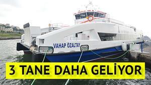İzmirde 3 gemi daha hizmete girecek