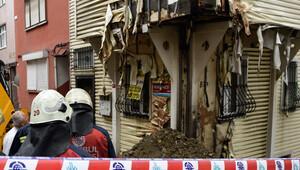 Beşiktaşta doğalgaz borusu patladı