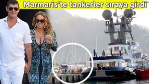 Mariah Careyin nişanlısının lüks yatı Marmariste