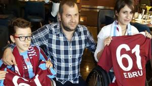 Trabzonspordan anlamlı organizasyon