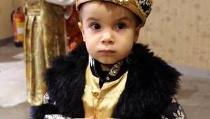 Çocuklar Osmanlı kıyafeti giyip sultan ve şehzade oldu